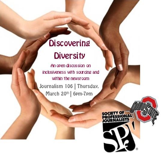SPJ diversity flyer